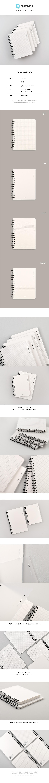 [tobe]PP멀티노트 - 씨엔지, 3,000원, 스프링노트, 유선노트